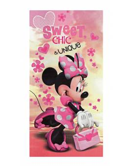 Disney Telo Mare Minnie Topolina Salviettone Asciugamano Spugna Film