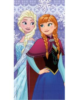 Telo Mare Piscina Disney Frozen in Spugna di cotone Salviettone Bimbo Bimba