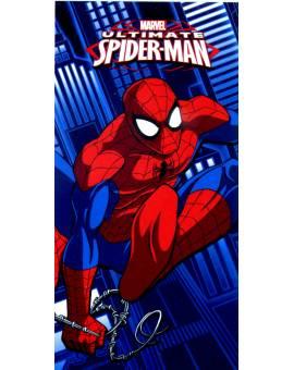Spider-Man Telo Mare Salviettone asciugamano in spugna di Cotone Uomo Ragno Marvel