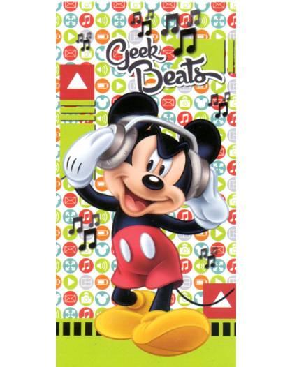 Telo Mare Disney Mickey Mouse Topolino salviettone asciugamano spugna di Cotone