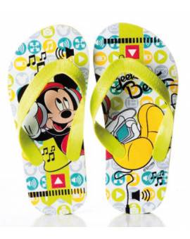 Ciabatte Infradito Disney Topolino Bimbo In Gomma Mickey Mouse