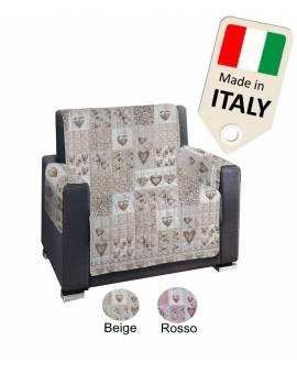 Copridivano 3 Posti 2 Posti 4 Posti Copripoltrona Made In Italy Shabby