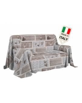 Copridivano Copriletto Shabby Love Copritutto Made In Italy Gran Foula