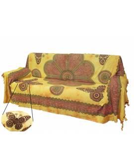 Gran foular disegni Mandala copriletti copridivani tenda quadro parete Batik
