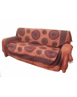 Copri divano copri letto Granfoular copritutto Batik Oriente etnico cotone Mandala
