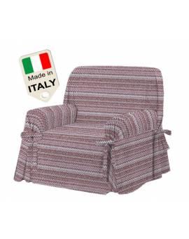 Copridivano copertura con lacci copripoltrona tipo MISSONI Made in Italy