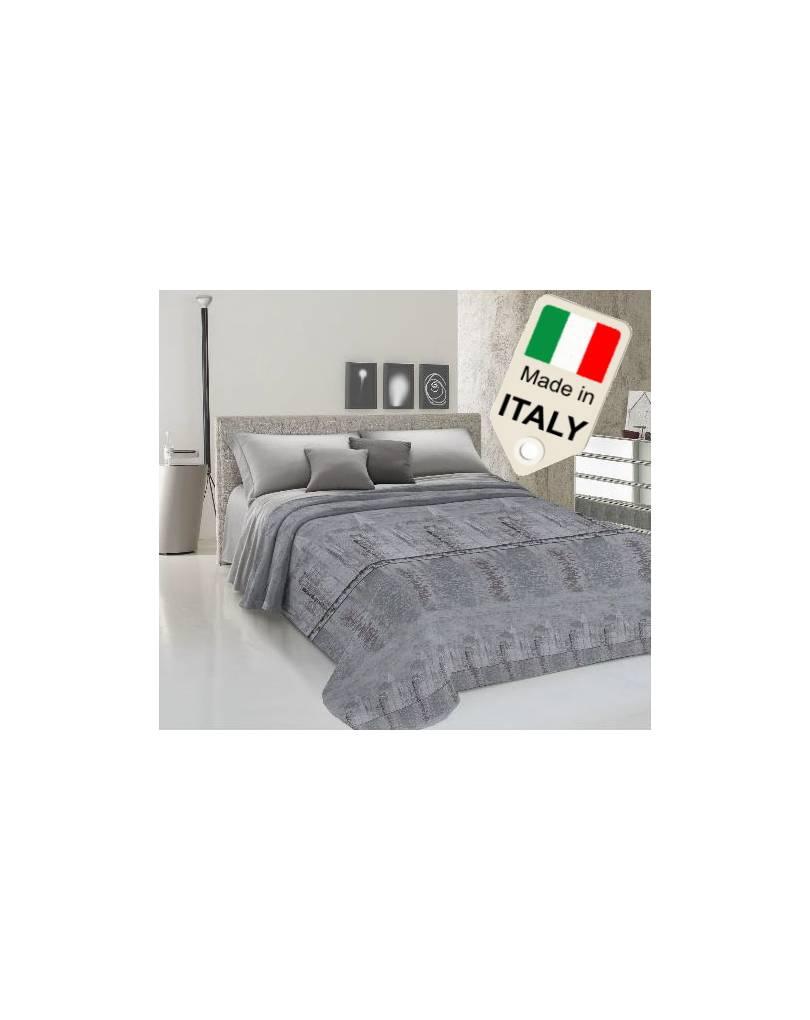 Copriletto Matrimoniale Estivo Cotone Made Italy Piquet America New York Grigio Quilts Bedspreads Coverlets Home Garden
