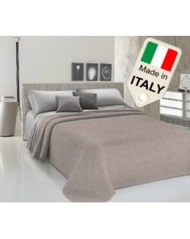 Copriletto disegno maculato estivo primaverile moda made Italy in cotone