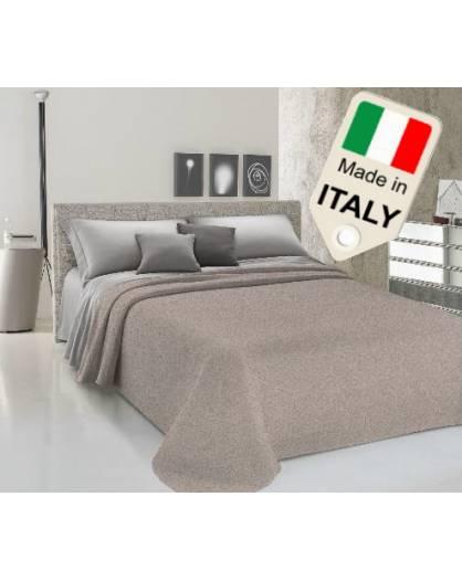 Copriletto disegno tipo borbonese estivo primaverile moda made Italy in cotone