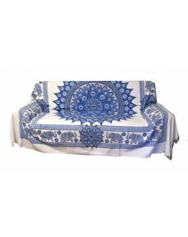 Copri divano copri letto Telo copri tutto ARAZZO gran foular Batik Mandala