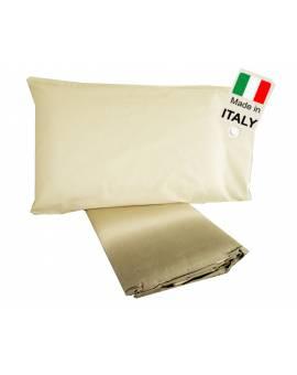 Parure Sacco Copripiumino letto matrimoniale felpato flanella made in iItaly