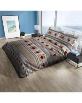 Trapunta letto singolo una piazza inverno cotone Made in Italy