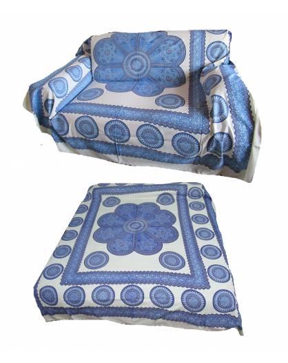 Copri divano letto copri tutto telo arredo Batik mandala in cotone fiore