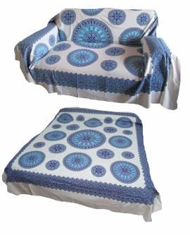 Copri divano letto copri tutto telo arredo Batik mandala cerchi