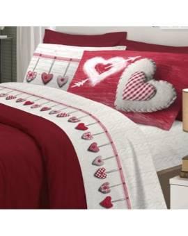 Completo letto lenzuola Felpa Flanella Felpate made Italy