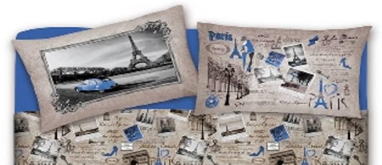 Il Letto Con Fantasia Parigi Lenzuola Maxi Per Letti Matrimoniali Sing