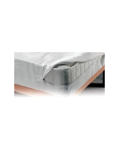 FODERA copri salva materasso letto matrimoniale con cerniera linea sanitaria