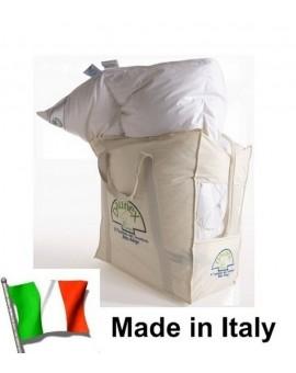 3 Veri Piumini Piumino Bianco Piuma Trentino Letto Matrimoniale Daunex