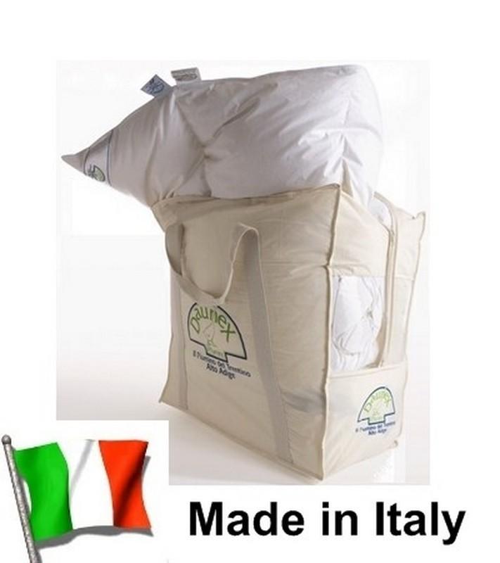 3 VERI Piumini Piumino Bianco piuma Trentino letto matrimoniale DAUNEX 4 stag