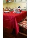 Tovaglia 6 Pers Antimacchia Idrorepellente Jacquard tavolo RETTANGOLARE no stiro