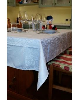Tovaglia ROTONDA Antimacchia Idrorepellente Jacquard tavolo cucina no stiro