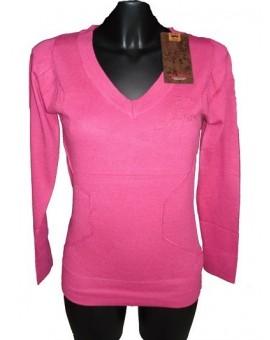 Abbigliamento Donna Maglione Invernale Scollatura A V Guru Gang Idea R