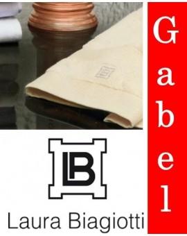 Laura Biagiotti Telo doccia bagno tinta unita spugna moda By Gabel