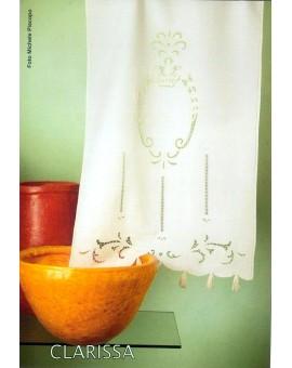 Tenda Tendone Tendaggio Ricamati A Mano Made In Italy Clarissa Champag