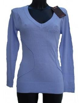 Abbigliamento donna Maglione invernale scollatura a V Guru Gang idea regalo