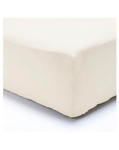 Lenzuola letto singolo UNA PIAZZA Angoli con elastico MAXI tinta unita cotone