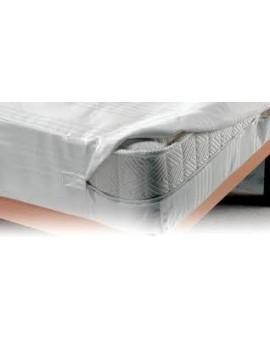 FODERA copri salva materasso letto piazza con cerniera linea sanitaria