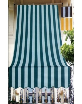 Tenda Da Sole Strisce Tendaggio 145x250 Balconi Porta Finestre Idrorep