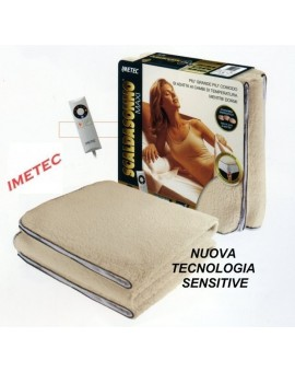 Scaldasonno MAXI express letto Matrimoniale IMETEC sensitive 100% lana merino
