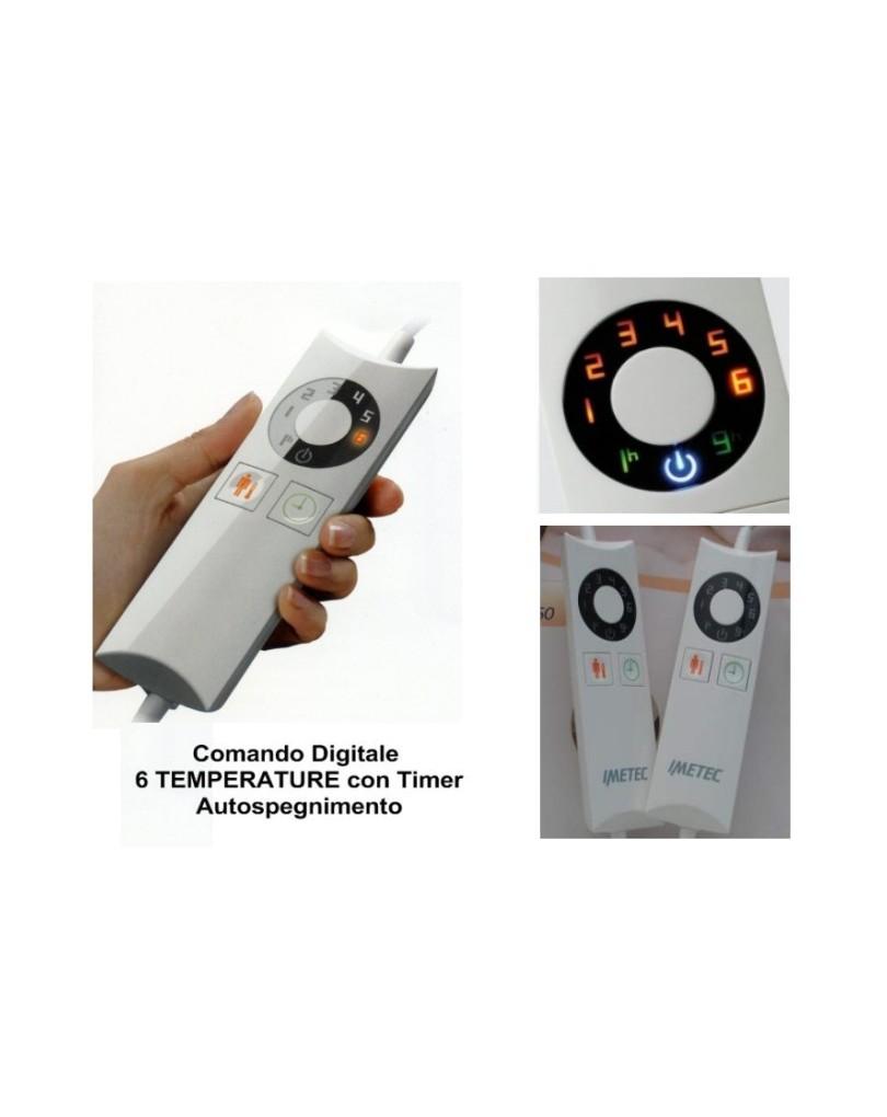 Scaldasonno Imetec Maxi Express Matrimoniale.Scaldasonno Imetec Maxi In Pura Lana Merino Tecnologia Sensitive