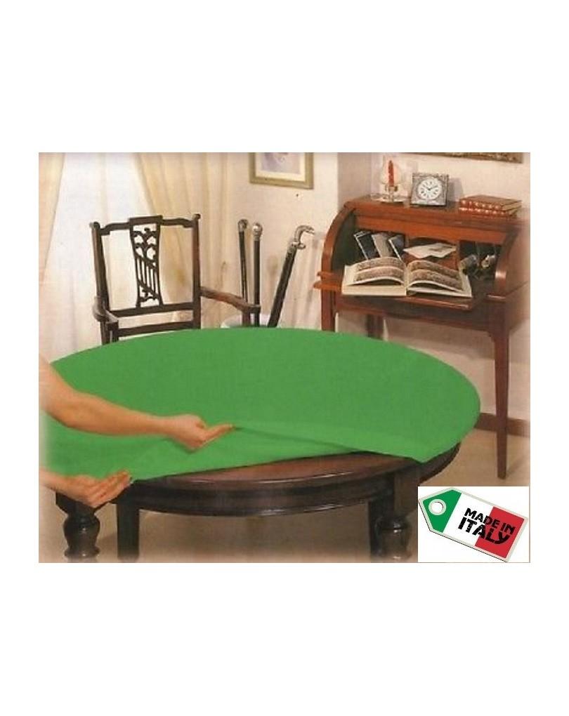 Mollettone salvatavolo rotondo panno da gioco - Mollettone per tavolo ...