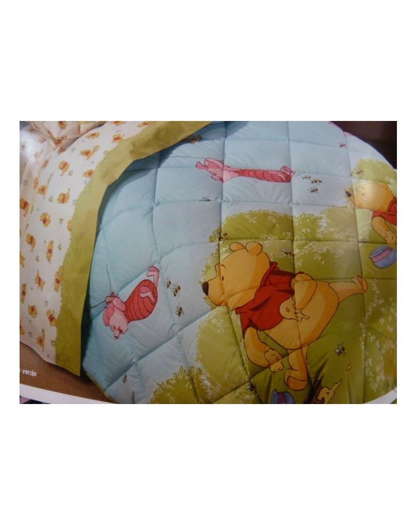 Copriletto Winnie The Pooh Caleffi.Trapunte Disney Con Vari Soggetti Per Bambini