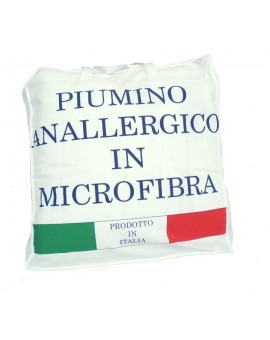 Piumino ANALLERGICO letto matrimoniale Made in Italy bianco Piumone Inverno
