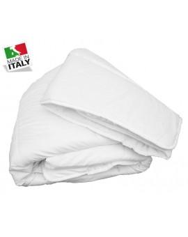 Piumino ANALLERGICO letto singolo Made in Italy bianco Piumone Inverno