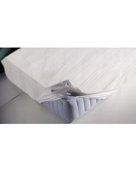 copri salva materasso FODERA letto singolo 1 piazza con angoli puro cotone