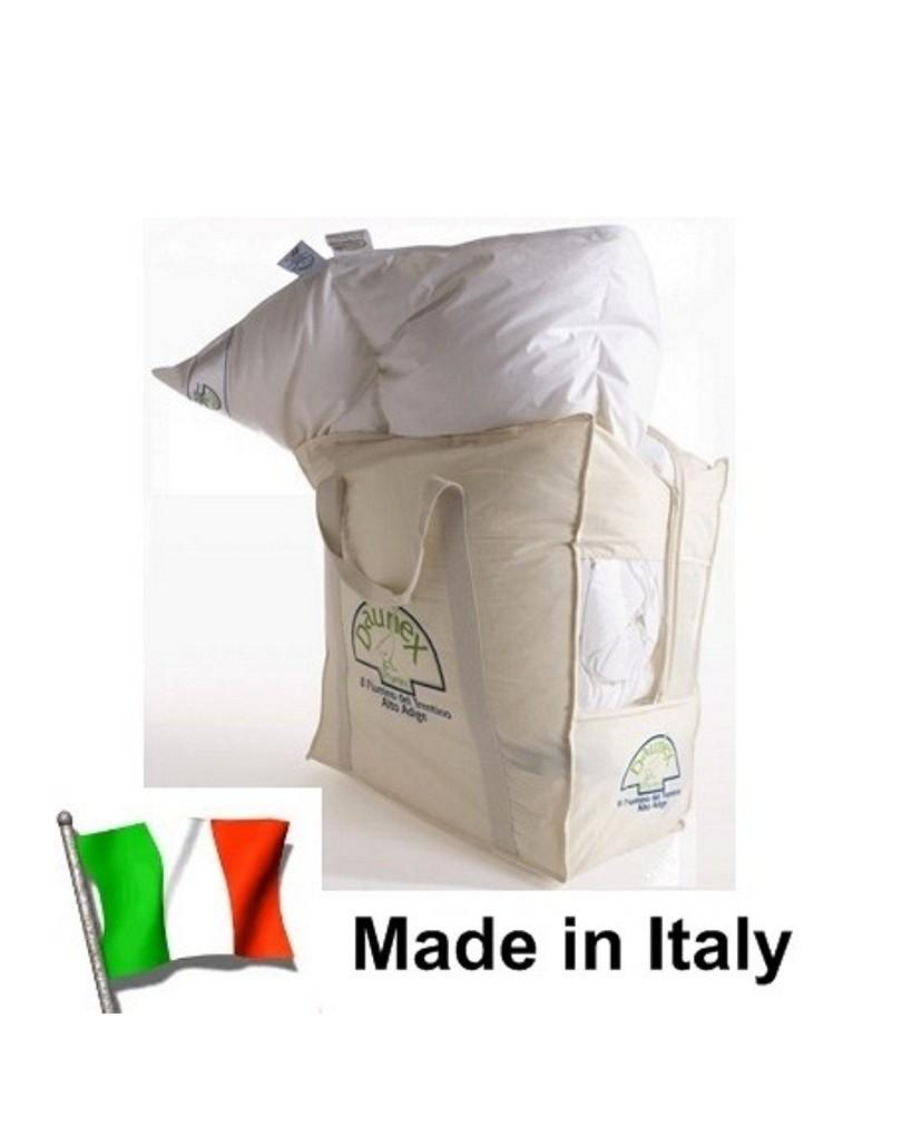 Piumino metà piuma d\'Oca BIANCO made in ITALY per Letto da 1 piazza ...