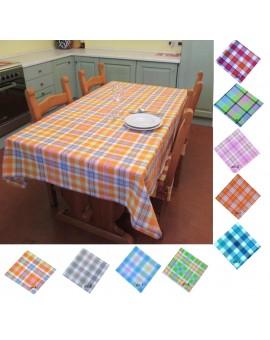 Tovaglia scozzese per 6 persone Tinto in Filo per tavolo da cucina
