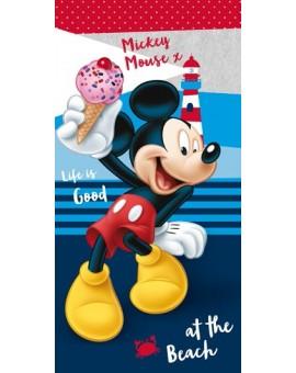 DISNEY Telo Mare Topolino Mickey Mouse salviettone asciugamano spugna personaggi