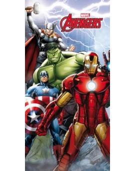 AVENGERS Iron Man Hulk Thor Telo Mare salviettone asciugamano spugna cotone