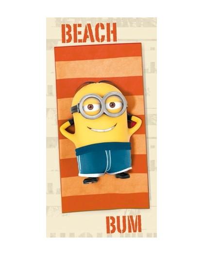 Minions Telo Mare Beach salviettone asciugamano spugna cotone