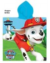 Poncho mare bambini PAW PATROL Chase Marshall Nickelodeon cotone