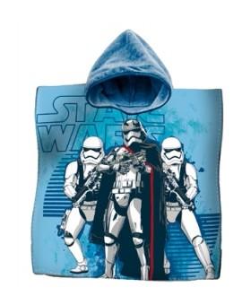 Poncho Mare Accappatoio Bambini Star Wars Spugna Cotone Affare