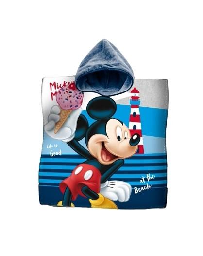 Accappatoio poncho mare telo per bambini disney topolino mickey mouse