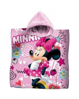 Accappatoio Poncho mare asciugamano bambine DISNEY MINNIE TOPOLINA