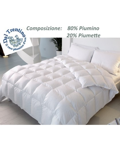 VERO Piumino d'OCA Trentino letto 1 Piazza e Mezza Piumone x sacco copripiumino