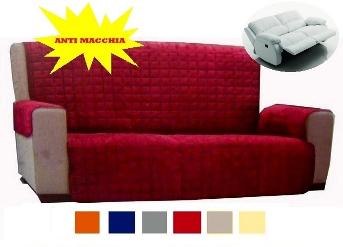 Copridivano 4 posti no elasticizzato anche per divano - Copridivano per divani reclinabili ...